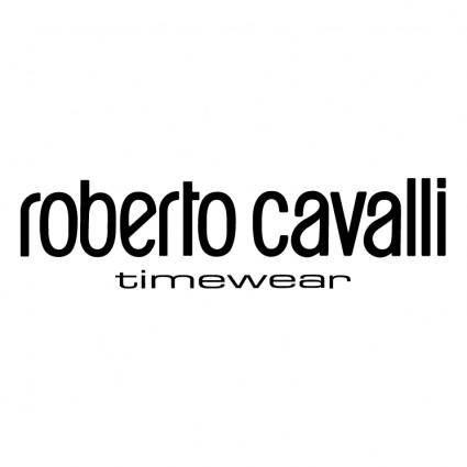 free vector Roberto cavalli timewear