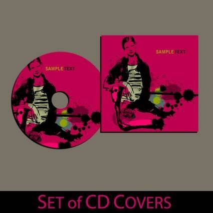 Beautifully packaged cd 01 vector