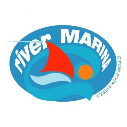 free vector River marina