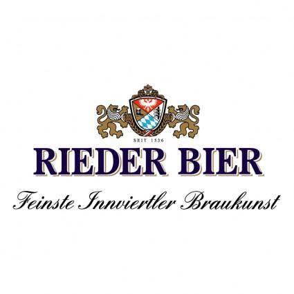 free vector Rieder bier