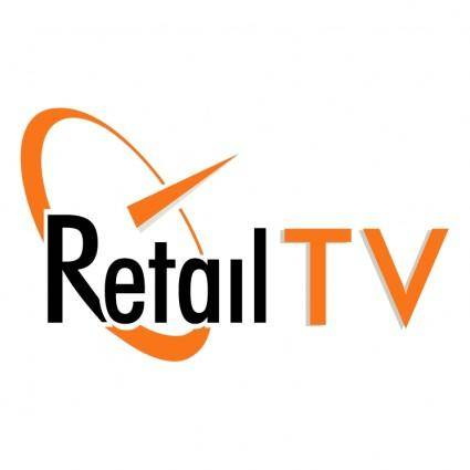 free vector Retail tv