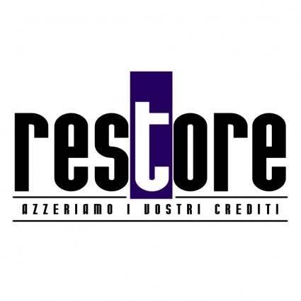 free vector Restore