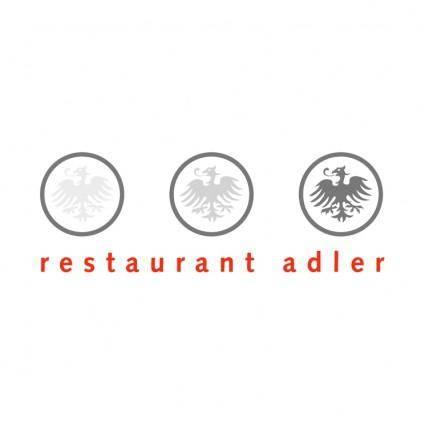 free vector Restaurant adler