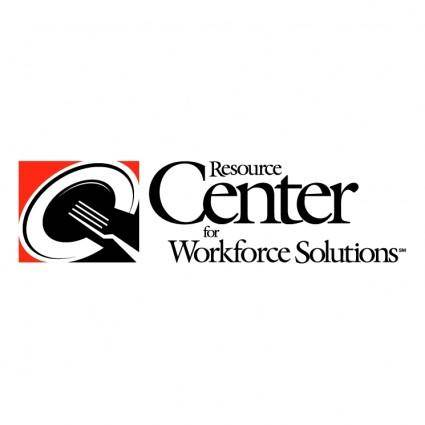 free vector Resource center for workforce solutions