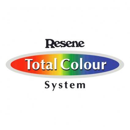 Resene total colour system