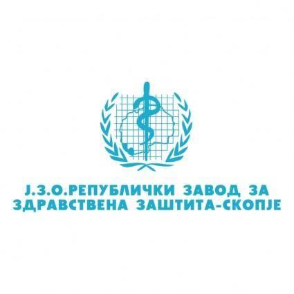 free vector Republicki zavod za zdravstvena zastita skopje