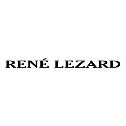 free vector Rene lezard