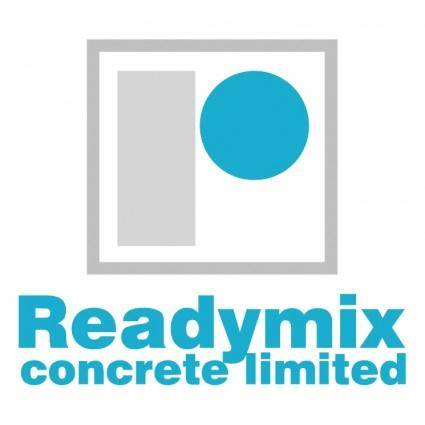 Readymix concrete limited