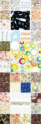 free vector All kinds of colorful graphic design vector