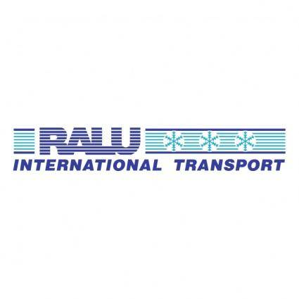 free vector Ralu international transport