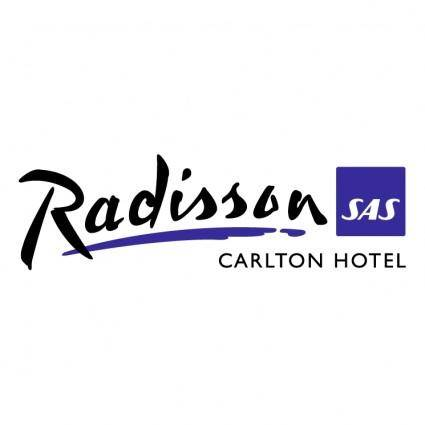 free vector Radisson sas carlton hotel
