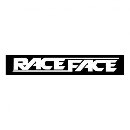 free vector Race face