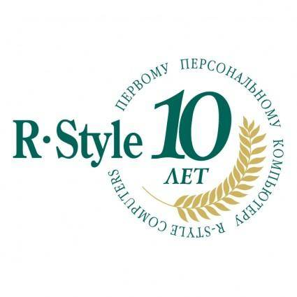 R style pc 10 years