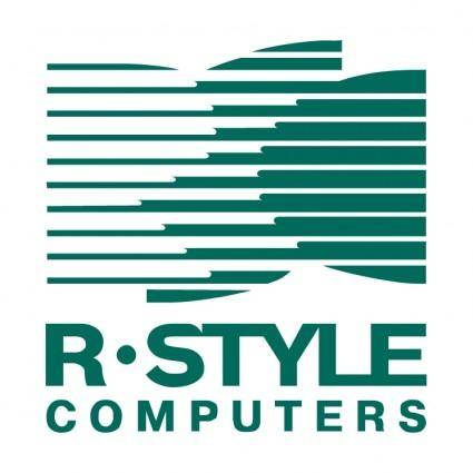 free vector R style computers