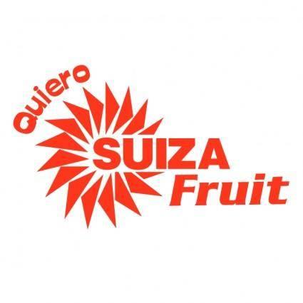 Quiero suiza fruit