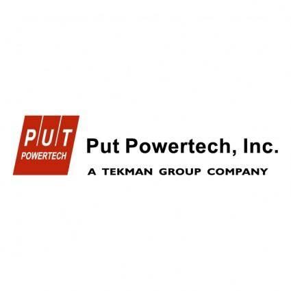 Put powertech inc 0
