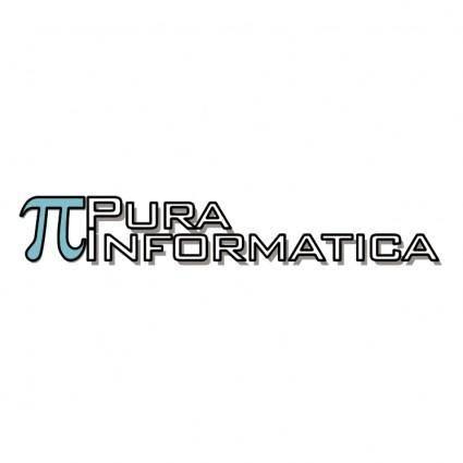 free vector Pura informatica