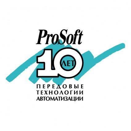 free vector Prosoft 10 years