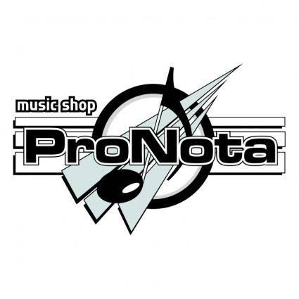 free vector Pronota