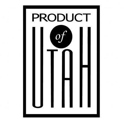 Product of utah
