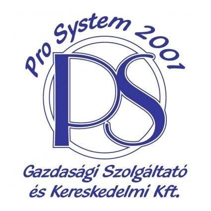 free vector Pro system 2001