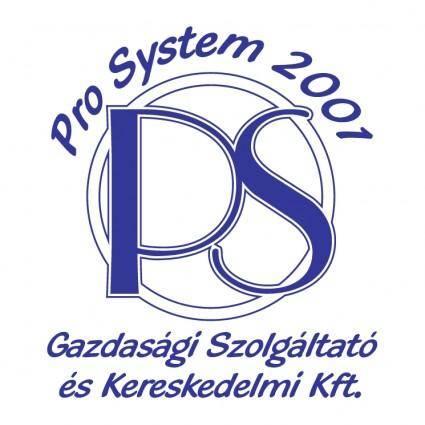 Pro system 2001