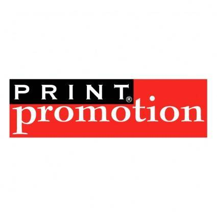 free vector Print promotion