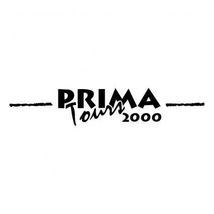 free vector Prima tours 2000