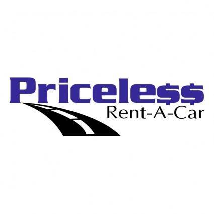 free vector Priceless rent a car