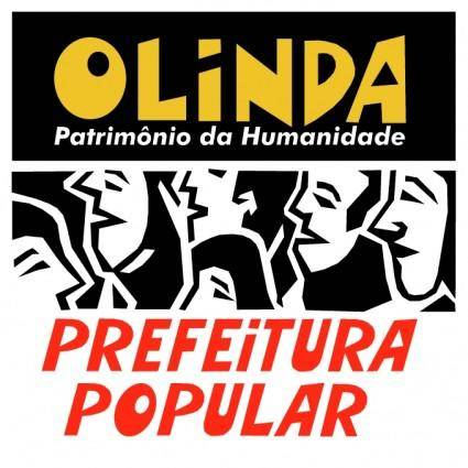 free vector Prefeitura de olinda