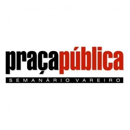 free vector Praca publica