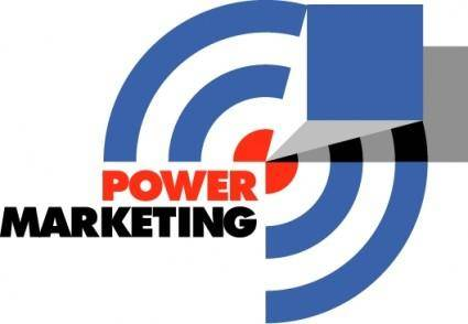 free vector Power marketing