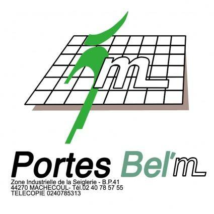 free vector Portes belm