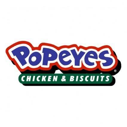 free vector Popeyes 2