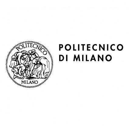 free vector Politecnico di milano 1