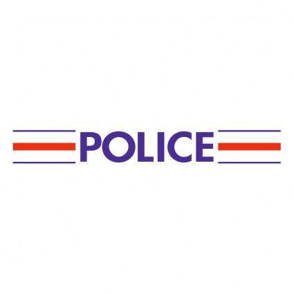 Police nationale francaise