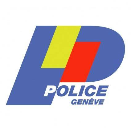 free vector Police cantonale genevoise