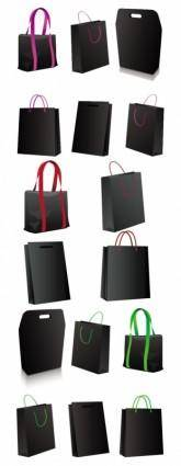 free vector Black bag vector