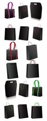 Black bag vector
