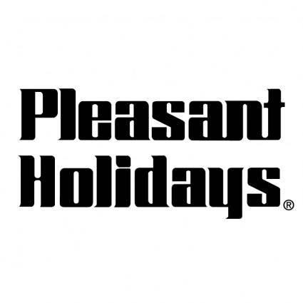 free vector Pleasant holidays