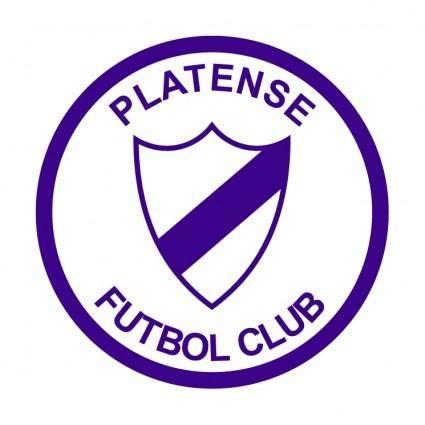 free vector Platense futbol club y ciclista de lujan