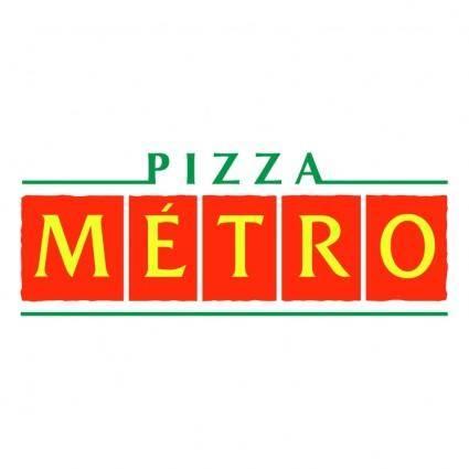 free vector Pizza metro