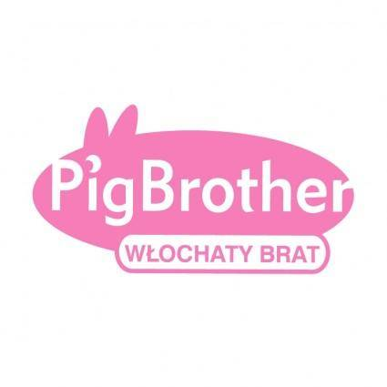 free vector Pig brother