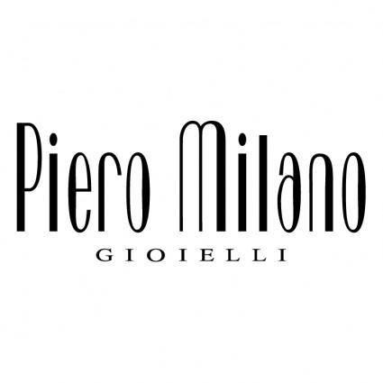 free vector Piero milano