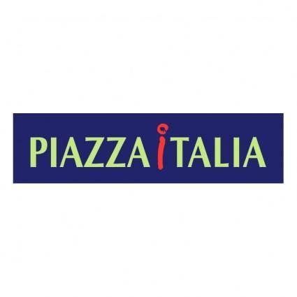 free vector Piazza italia