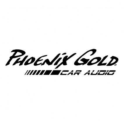 free vector Phoenix gold 1