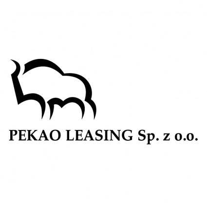 free vector Pekao leasing