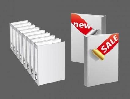 Vector blank folder