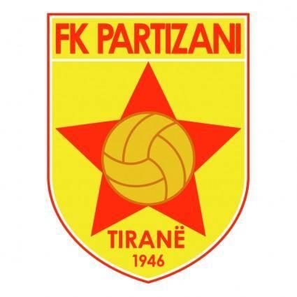 free vector Partizani tirane