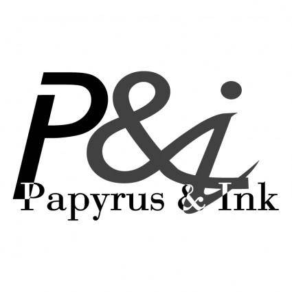Papyrus ink